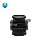 TV 1/2 1/3 C-Mount Objective Lens Adapter for Microscope Camera