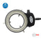 Adjustable 144 LED Ring Light Illuminator for Microscope or camera