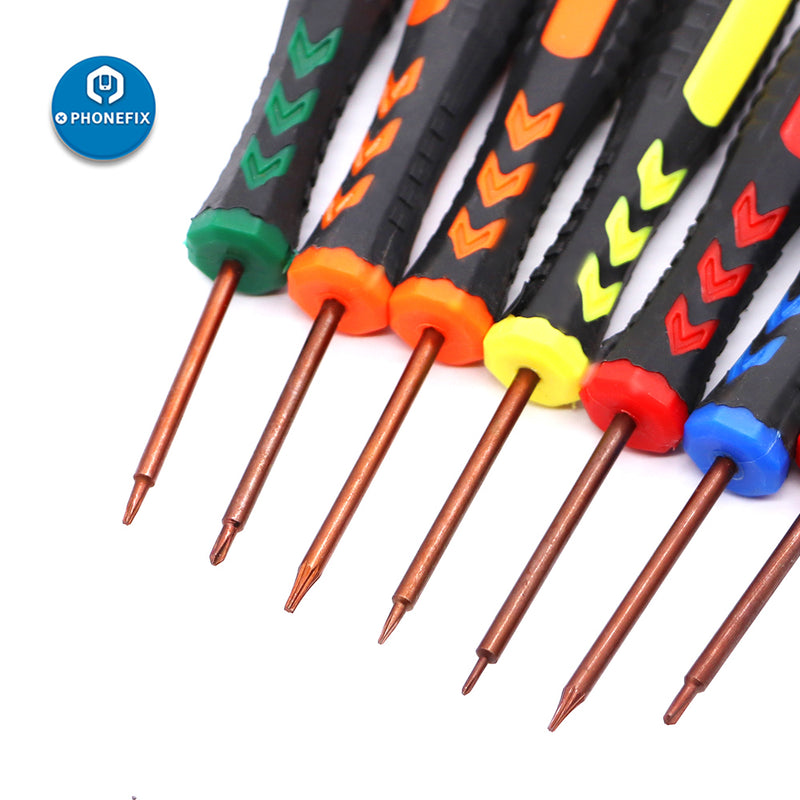 Magnetic Slotted Phillips Screwdriver for Phone Opening Repair Tool
