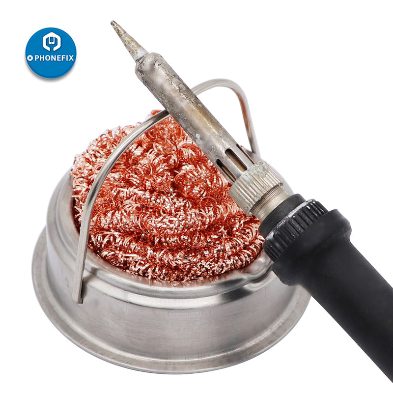 Soldering Iron Cleaning Steel Wire Ball For PCB Cleaning Repair Tool