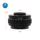 0.35X/0.5X Focus Adjustable C Mount Adapter For Trinocular Microscope