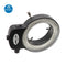 Adjustable 144 LED Microscope Ring Light with Adapter