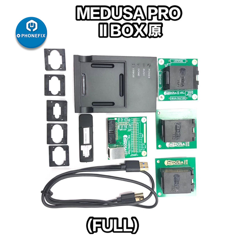 Medusa Pro II box UFS95 UFS153 eMMC 4 in 1 socket adapter