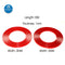 1mm*10m Length Strong Adhesive Double Sided No Trace PET Red Film