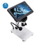 DM9 1200X 12MP USB Digital Microscope with 7 Inch Display Screen