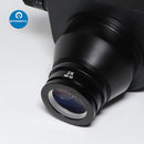 7X-45X Black Simul-Focal Trinocular Zoom Stereo Microscope Head