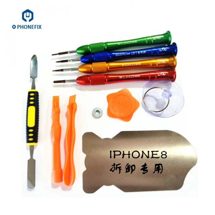 Customized iphone 11 x 8 7 Opening Tools Kit Specially Screwdriver set