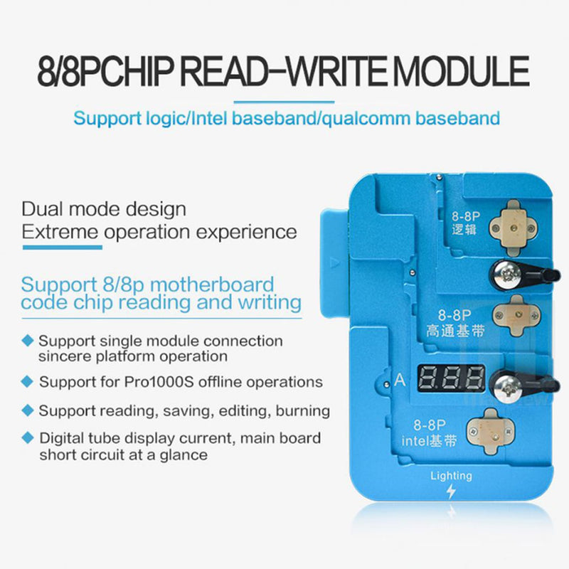 iPhone 8 8P BaseBand Logic EEPROM IC Read Write Programming