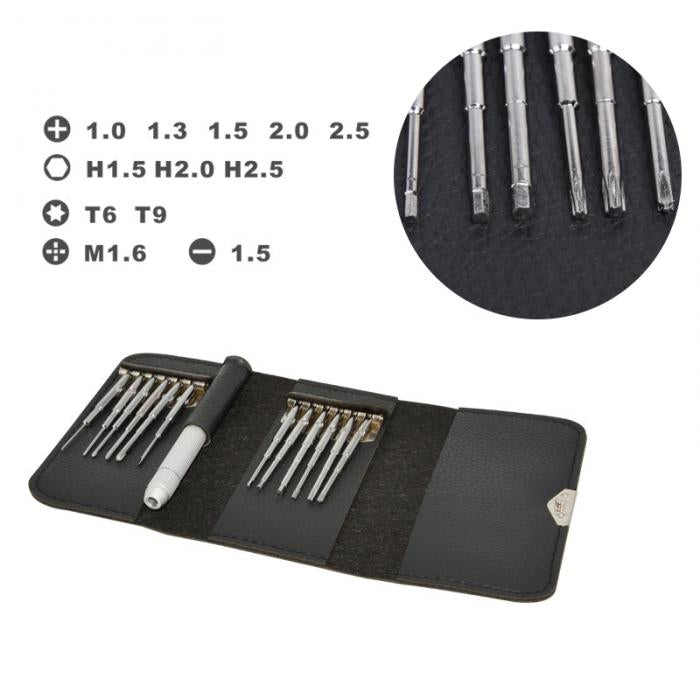 13 in 1 Screwdriver Set Wallet Pocket Hand Tools for PC Opening Tools