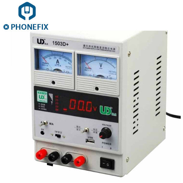 1503D+ Adjustable Regulated Dc Power Supply 5V 3A LED display