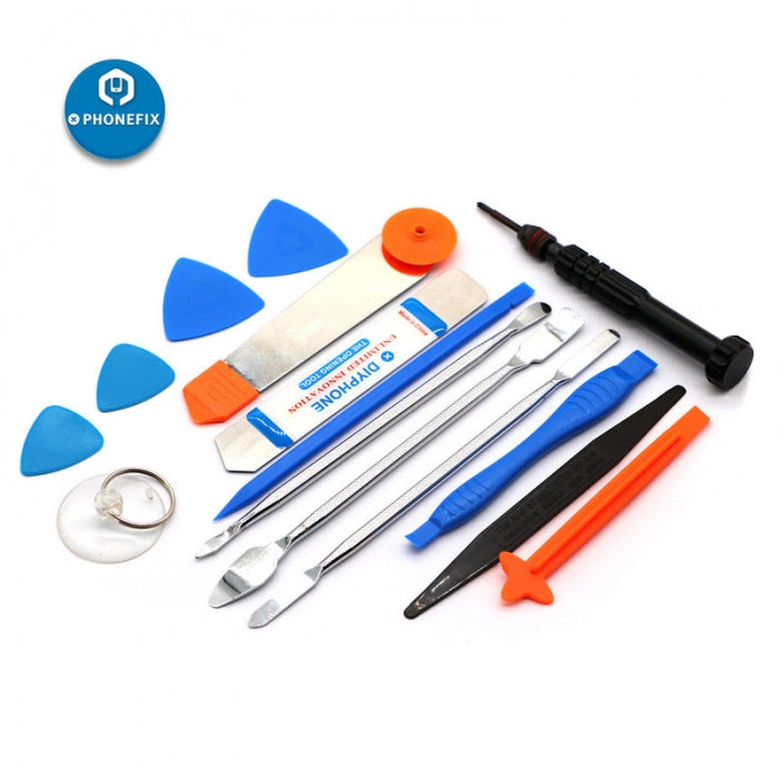 15 in 1 Phone Repair Tools Kit Opening Screwdriver Set for Cell Phone