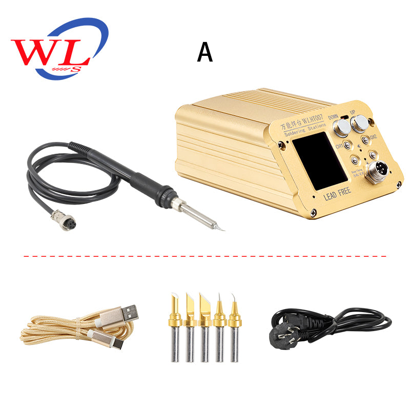 WL HT007 Heating Soldering Station for iPhone X XS MAX BGA Reballing