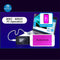 JC B-BOX C3 DFU Black Tool One Key to Purple Mode for iOS A7-A11