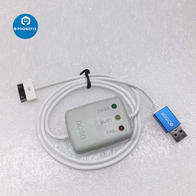 30Pin Serial Port Engineering Cable For iPhone 4 4S Debugging Line