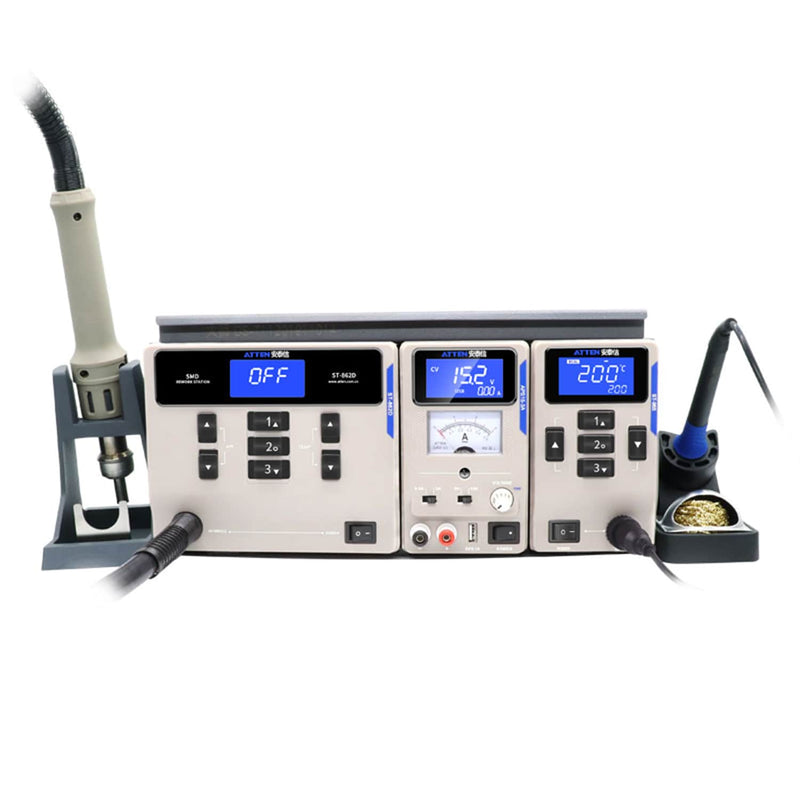 ATTEN MS300 3 IN 1 Soldering Hot Air DC power supply Platform