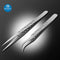 Precision Industrial Tweezers Curved Straight Tip Forceps Repair Tool