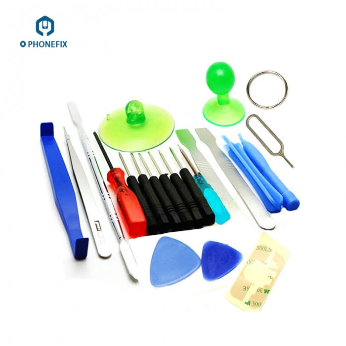 21pcs iPhone Samsung Opening Pry Repair Tools Kit Screwdriver Set