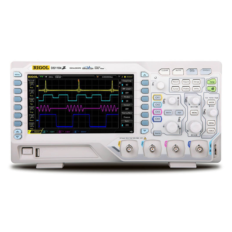 RIGOL DS1104Z Digital Storage Oscilloscope 4 Channels 100MHz