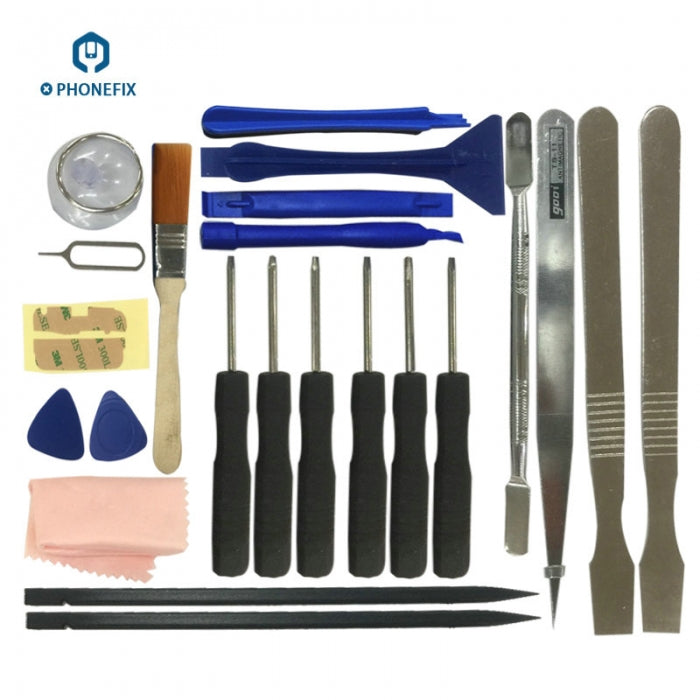 23 in 1 Disassemble Opening Tools Kit Screwdriver Set for iPhone 7 8 X