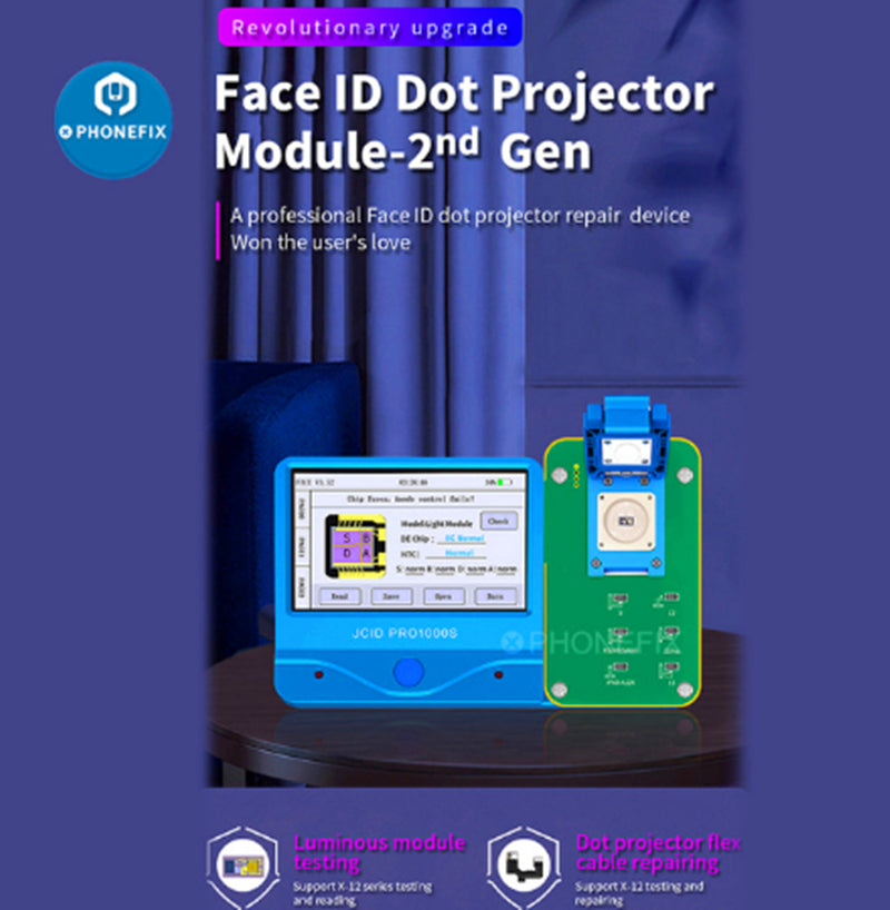 JC Iface Pro Dot Matrix Module For iPhone X -11 Pro Max Face ID