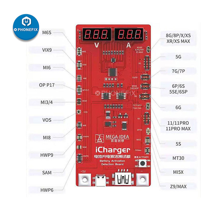 Qianli  iCharger Battery Activation Board For iPhone Android Test