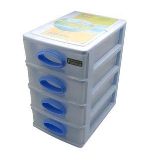 4 Layer Transparent Plastic Storage Box Small Parts Screws Container