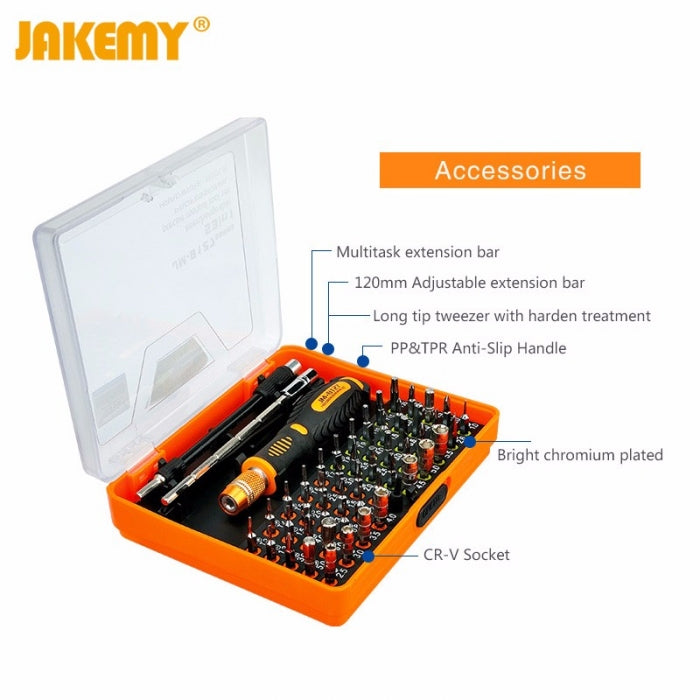 JM-8127 53 in 1 Magnetic Screwdriver Set for Cell Phone PC Repair