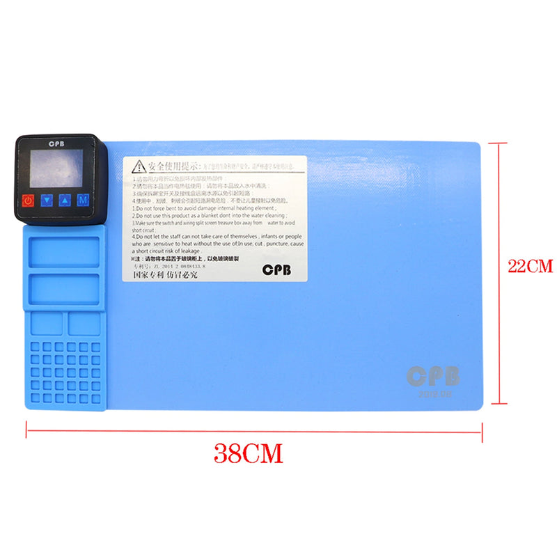 CPB CP320 LCD Screen Heating Pad Opening Separator 380*220mm