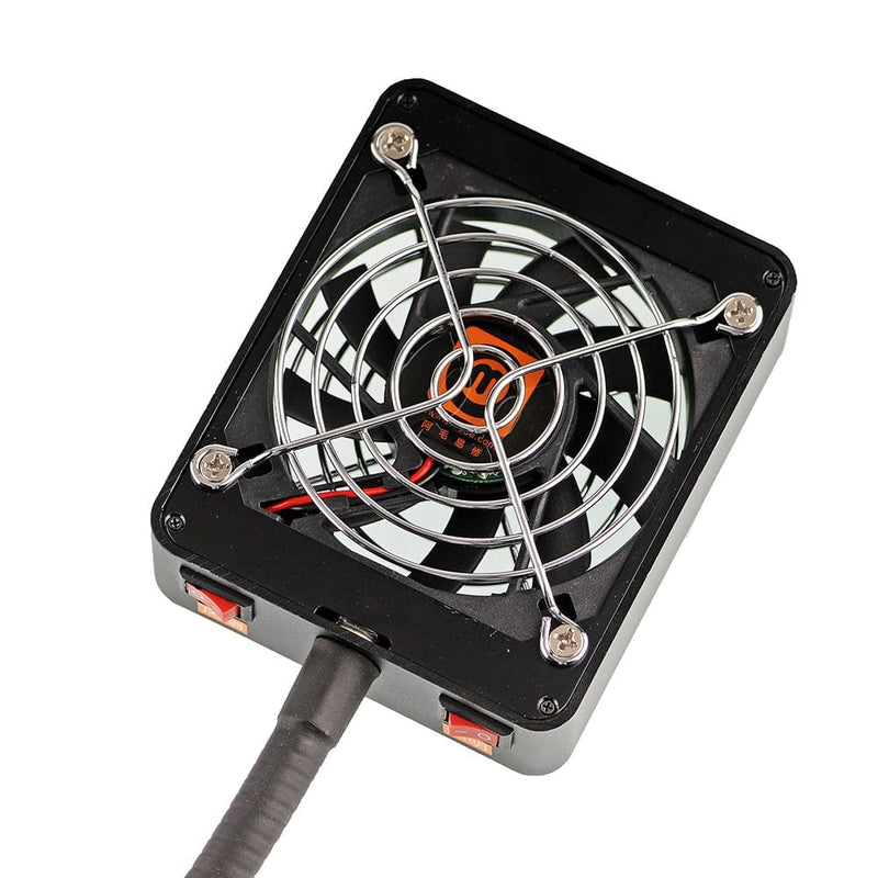 Phone Repair Soldering Exhaust Fan Smoke ejector with LED Lighting