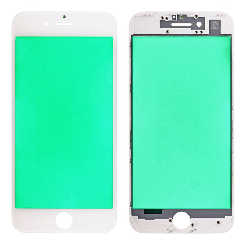 Screen Front Glass With Frame OCA For iPhone 6 To 11 Pro Max