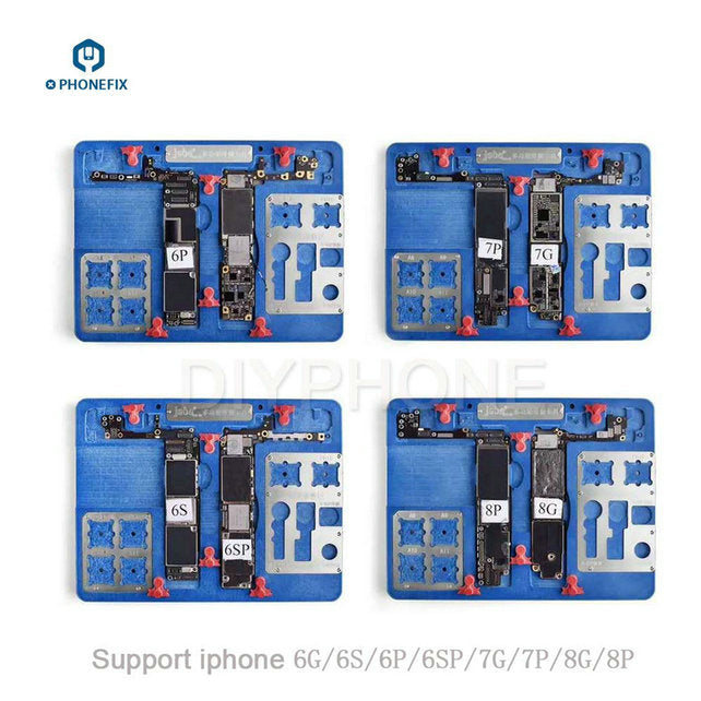 8 IN 1 Multi-Function PCB Test Holder Fixture for iPhone 6 7 8 Repair