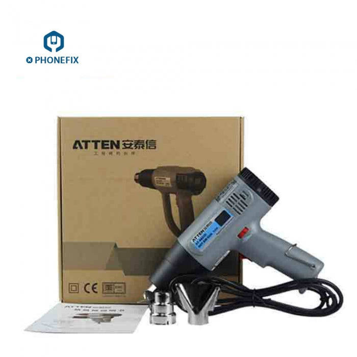 Atten AT-A822D AT-A860D Controlled Heat Hot Air Gun Variable Temp