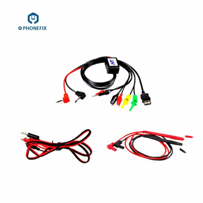 DC Power Supply Test Leads Alligator Clip Multimeter Test Cable