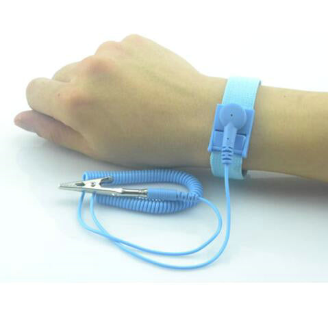 Anti Static Bracelet Wrist Strap Band ESD Discharge Cable