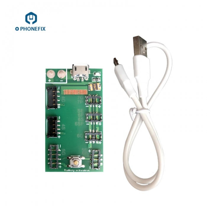 DC Power Test Cable + Battery Activation Board For iPhone 4-11 Pro Max