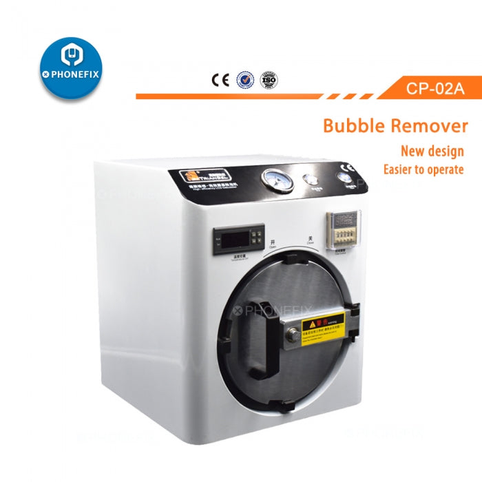 LCD OCA Bubble Remover Machine Screen Refurbishment Repair
