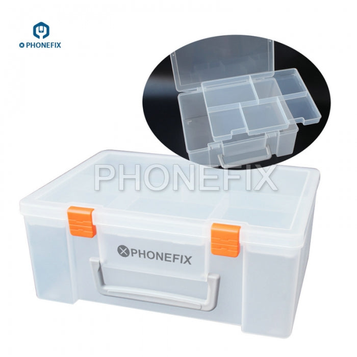 Portable Plastic Hardware Toolbox for Phone Repair Component Tool