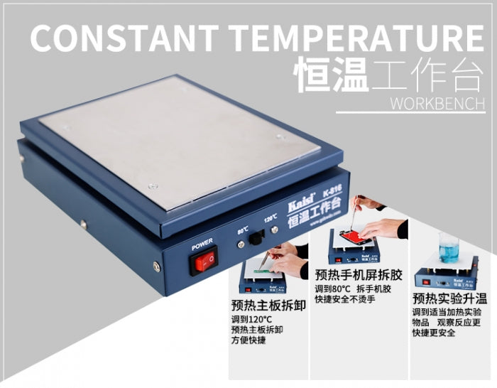K-816 Constant Temperature Preheating Station for BGA Reballing