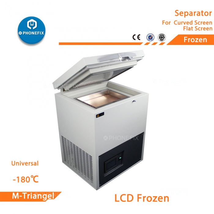 -180℃ Freezing Separator Machine Curved Screen Disassemble Repair