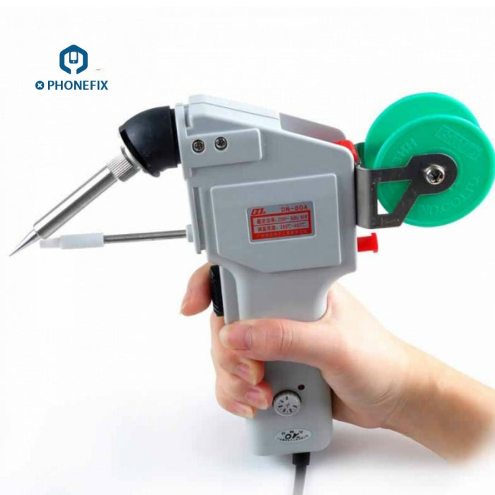 DW-80 soldering gun adjustable Constant Temperature automatic tin