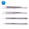 Stainless Steel Anti-Static Tweezers Precision Pointed Tweezers Tool