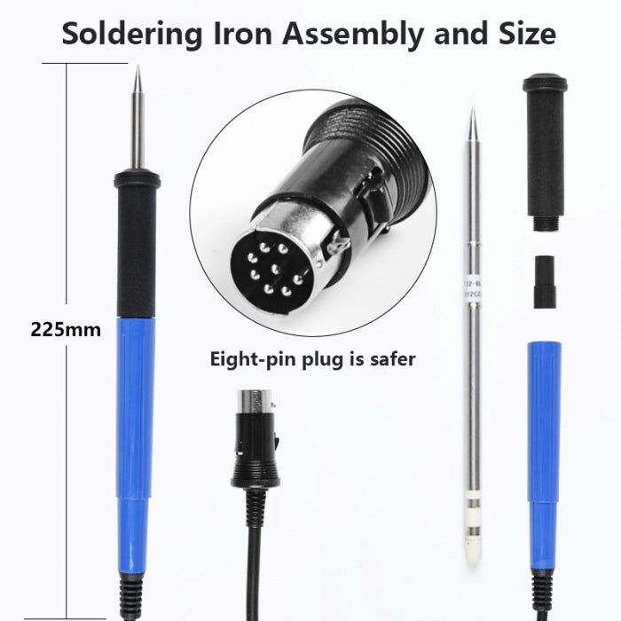 Soldering Iron Handle Replacement for HAKKO FX-951 Soldering Station