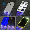 Cool LED Glow Light Flex Cable Loud Speaker Lamp for iPhone 6 6P 7 7P