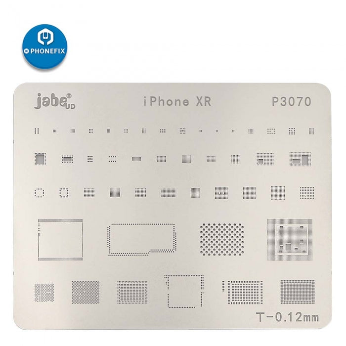 BGA Reballing Stencils Template Dedicate Kit For iPhone XS MAX PCB