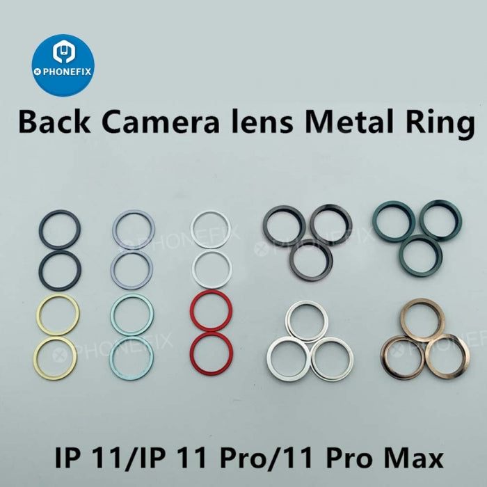 Rear Camera Lens Metal Protective Circle Ring For iPhone 11 11 Pro Max
