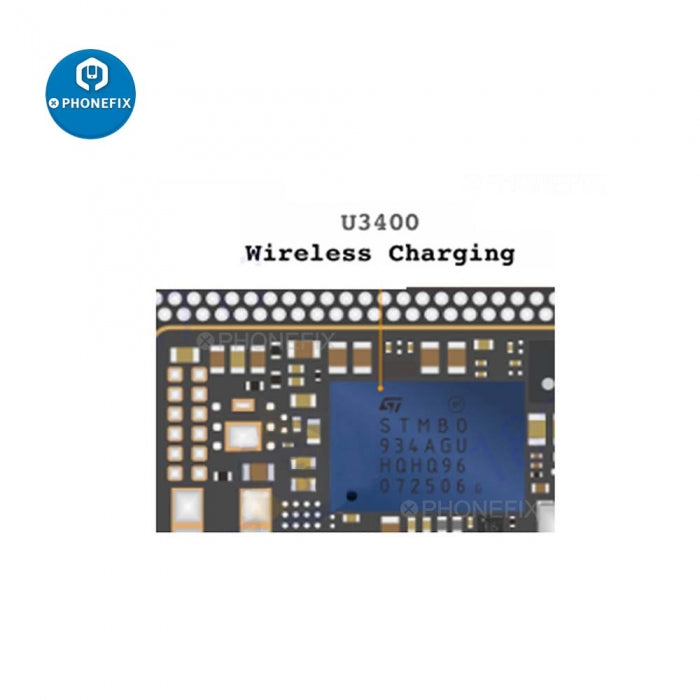 SPTMBO Wireless Charger IC For iPhone 11 Pro Max Motherboard Repair