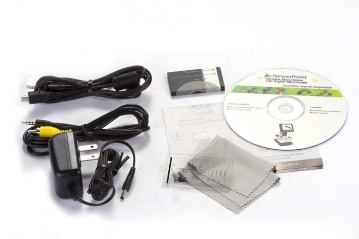 "600X 3.5"" HD Digital Microscope with Camera Video Recorder"