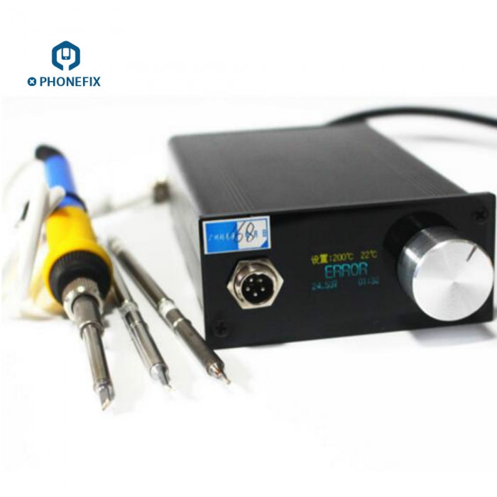 HYTBOX Thermostatic Electric Soldering Iron Digital LCD Display