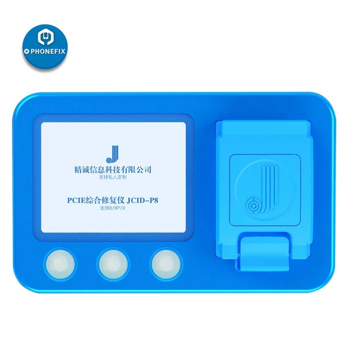 JC-ID P8 PCIE NAND programmer for iPhone 8 8P X NAND Repair