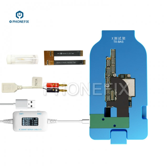 JC TX-BAS Double Layered Motherboard Test Fixture for iPhone X